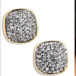 Kate spade diamond stud square earring NEW